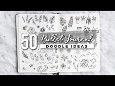 EASY, SIMPLE DOODLES are a great way to exercise creativity & fun. Get drawn into these cute doodle art designs. Perfect for a bullet journal Doodle Bullet Journal, How To Bullet Journal, Doodle For Beginners, Drawing For Beginners, Bujo, Simple Doodles, Cute Doodles, Doodle Drawings, Doodle Art