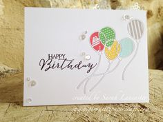 pirouette: Inlaid Die Cutting   Happy Birthday...