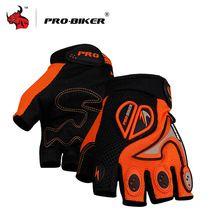PRO-BIKER Motorcycle Bicycle Half Finger Cycling Gloves MTB ATV DH Bike Racing Gloves Motorcycle Motocross Off-Road Gloves Luvas(China (Mainland))