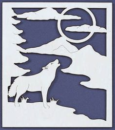 wolf scroll saw patterns - Google Search