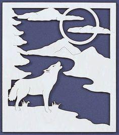wolf scroll saw patterns - Google Search