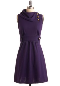 Coach Tour Dress in Violet - someone in my bridal party seriously needs to get this dress PRONTO!