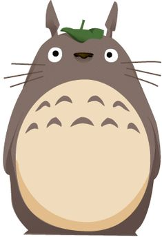 Totoro- Abie is in love with this movie!!! :)