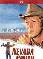 Nevada Smith Director: Henry Hathaway Stars: Steve McQueen, Karl Malden and Brian Keith Steve Mcqueen, Nevada Smith, Peliculas Western, Westerns, Suzanne Pleshette, Karl Malden, Brian Keith, Capas Dvd, Book Sites