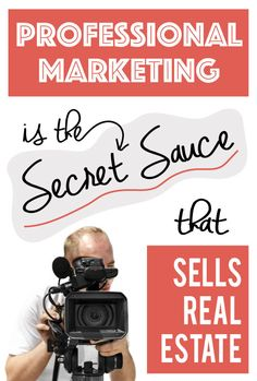 Professional Marketing is the Secret Sauce that Sells Real Estate