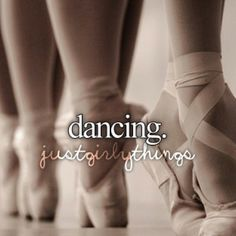 I love being a dancer!!!