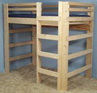 Best Diy Loft Bed Plans Free College Bed Lofts Basic Loft 400 x 300