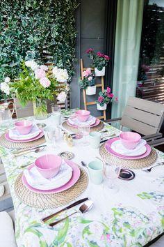 Vídeo Cómo decorar una mesa en verano Deco, Youtube - Crímenes de la Moda