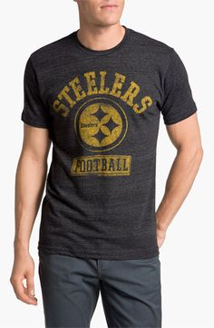 Junk Food  Pittsburgh Steelers  Graphic Crewneck T-Shirt  3dd934263