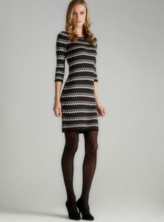 One of my favorites this winter; Calvin Klein sweater dress.