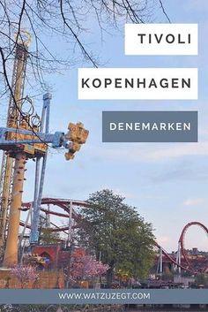 Tivoli is het bekendste pretpark van Kopenhagen Denemarken