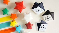How to Make a Lucky Star and a Lucky Cat :: Estrella y Gato