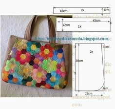 We sew bags - many ideas and patterns (from the Internet) - a user post (Lyudmila (I beg you)) in the community Sewing in the Sewing workshop category Patchwork Bags, Quilted Bag, Bag Patterns To Sew, Sewing Patterns, Bag Quilt, Types Of Bag, Fabric Bags, Sew Bags, Patch Quilt