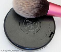 MAC Stereo Rose MSF   Makyaj Blogu ve Kozmetik