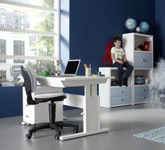 3-Drawer-Unit-on-Castors-(Solid-Wood)---White-by-Lifetime-Kidsrooms-155-10-for-desk-storage-for-kids