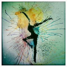 Firedancer art Dave Matthews Band inspired by MoodyGraphics