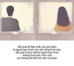 """""""Kết quả tốt đẹp nhất của yêu thầm là người bạn thích vừa vặn cũng thích bạn, kết quả bi kịch nhất…"""""""