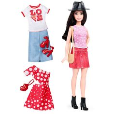 Barbie® Fashionistas™ 40 Pizza Pizzazz Doll & Fashions - Petite | DTF03 | Barbie