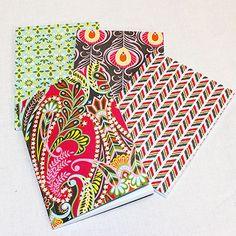 Anna Griffin Colorful Notebook Set from UrbanGirl.com, a woman-owned business.  #buyfromwomen
