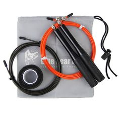 High Velocity Adjustable Metal Bearing Speed Rope, Great for CrossFit and Cardio