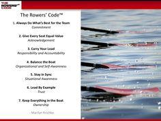 Rower's Code, USRowing