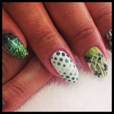 You don't need luck to join the team, talent however...#necessary. Nail Tech opening at tricoci.com/careers. Nails by: @kameronlnailsmt #manimonday #tricocicareers #saloncareers #spacareers