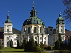 Kloster Ettal (Monastery & Distillery) & Schaukäserei Ammergauer Alpen…