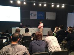 Al termine della lecture, i visitatori di #Smartenergy interagiscono con esperti di @ENEAWebTV e Rse @GSErinnovabili