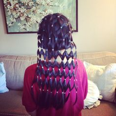 my wacky hair day idea!