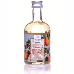 Orange Blossom Cordial, from The East India Company London. For use in cocktails, sauces, fruit salads, pancakes, ice tea, etc.