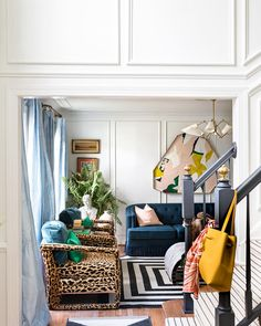 Living Room Ideas Bright Decor Ideas For 2019 Home Interior Design, Interior Styling, Living Room Decor, Living Spaces, Bright Decor, Foyer Decorating, Rental Decorating, Decorating Ideas, Eclectic Decor