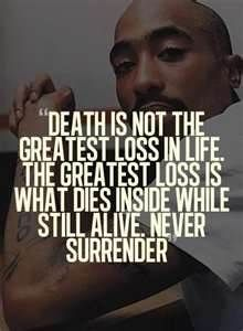 Tupac quote - he wasn't just about rappin...