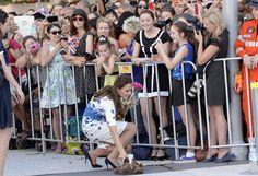Kate Middleton Photos - The Duke And Duchess Of Cambridge Tour Australia And New Zealand - Day 13 - Zimbio