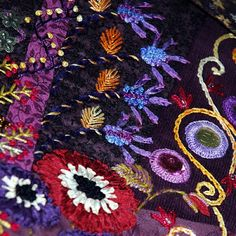 Gipsy Quilt: #CrazyQ - #Full Frontal - #Flowers
