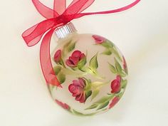 Hand Painted Christmas Ornaments,
