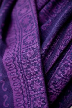 Purple and dark blue. Beautiful woven wrap from ellevill.com in delicate colors. Zara wraps are designed by ellevill and produced in India.