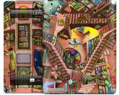 Library by Colin Thompson - iPad - $30.00