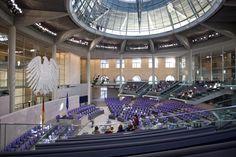Reichstag, New German Parliament   Interiors   Design Services   Foster + Partners
