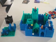Modular castle kit - Lego compatible by danielkschneider - Thingiverse