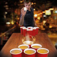 Beer pong géant #soirée #apéritif #bière