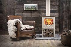 poele à bois et bois de chauffage - Marie Claire Maison