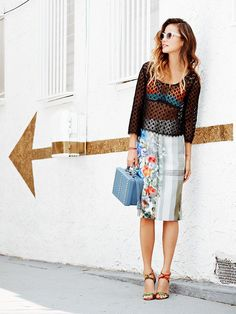 4+Awesome+Summer+Outfits+Styled+By+Jamie+Chung+via+@WhoWhatWear