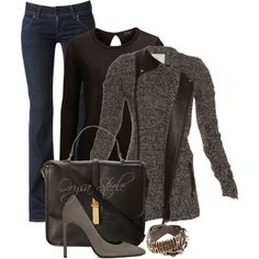 """""""Derby Jacket"""" by orysa on Polyvore"""