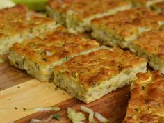 Ζυμαρόπιτα ή Μπατζίνα Food N, Good Food, Food And Drink, Vegan Cookbook, Greek Recipes, Quiche, Favorite Recipes, Meals, Dinner