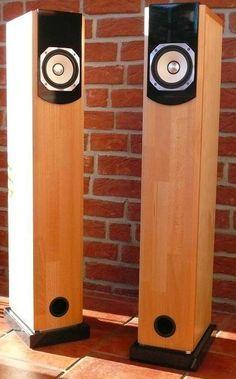 Fostex FX120 Transmission Line Speakers