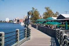 Wilmington SC..lovely places to eat on the water front and a quaint little place that hides treasures of trinkets..