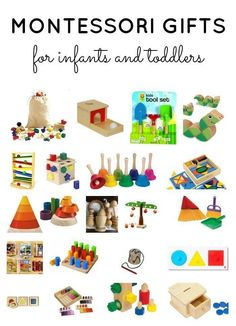 Montessori Materials for Infants & Toddlers