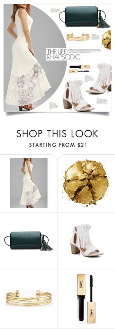 """""""Summer Kiss"""" by mahafromkailash ❤ liked on Polyvore featuring Pat McGrath and Stella & Dot"""