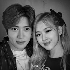 Kpop Couples, Cute Couples, Blackpink Funny, Rose Park, Ulzzang Couple, Jung Jaehyun, Jaehyun Nct, Couple Aesthetic, Blackpink Fashion