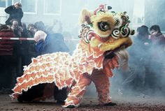 Lion Dance for Chinese New Year Chinese Lion Dance, Chinese Art, Animal Spirit Guides, Spirit Animal, Taipei, The Magic Flute, Chinese Element, Dragon Dance, Lion Art